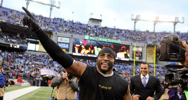 Ray Lewis: Emotional send-off