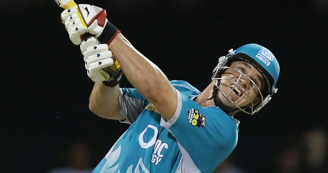 Luke Pomersbach: Smashed the fastest half-century of the competition