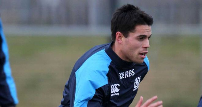 Sean Maitland: Wing in training with Scotland on Tuesday