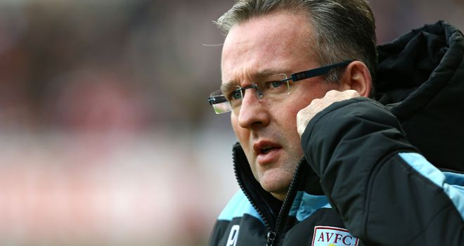 Paul Lambert: Has had a rough ride since taking over at Villa
