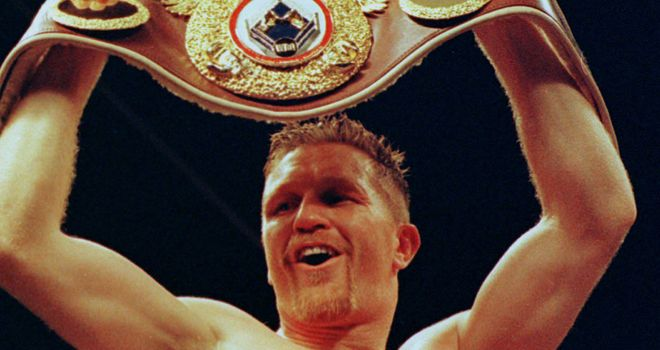 Steve Collins: Set for return to the ring