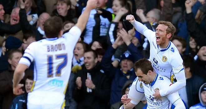 Leeds: Came from behind to beat Wednesday