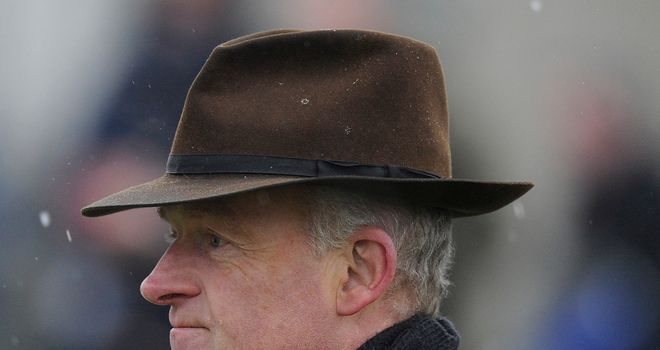 Willie Mullins: Delighted with On His Own's win at Navan