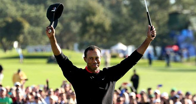 Tiger Woods: Won by four shots but had some problems with his driver