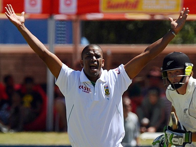 Philander took five wickets