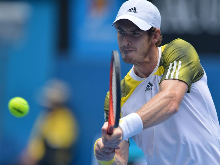 Murray: Straightforward victory in Melbroune heat