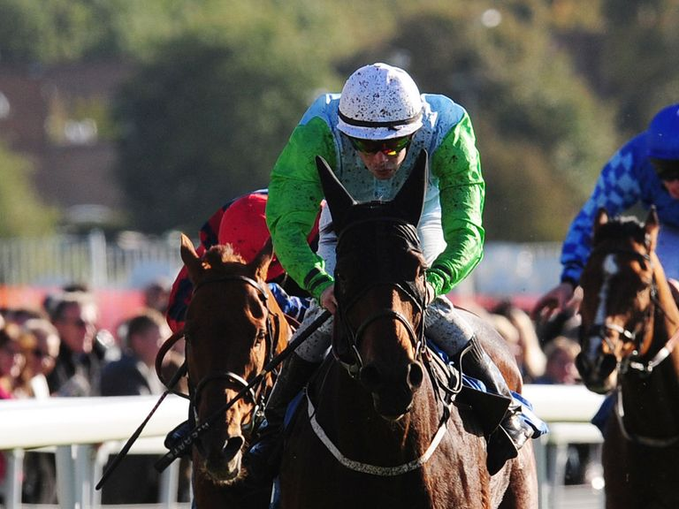 Adam Carter in winning action at York last year