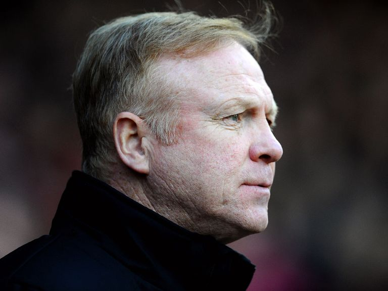 Alex McLeish: Denies rift rumours