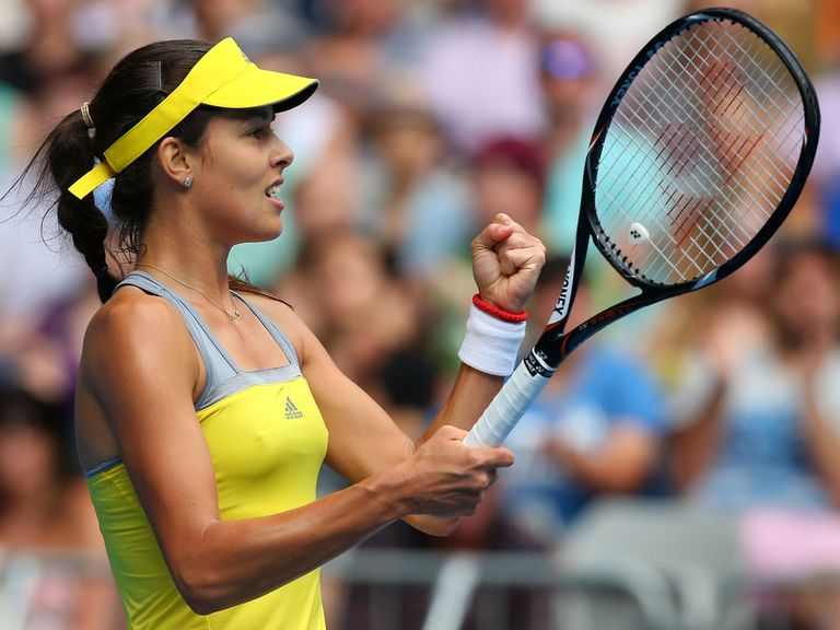 Ana Ivanovic: Triumphed in her all-Serbian battle