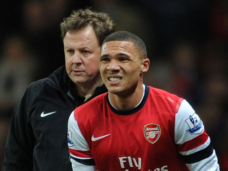 Kieran Gibbs: Injury blow