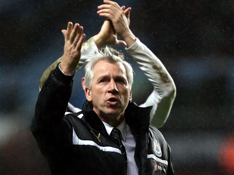 Alan Pardew: Feels his side have as good a chance as anyone