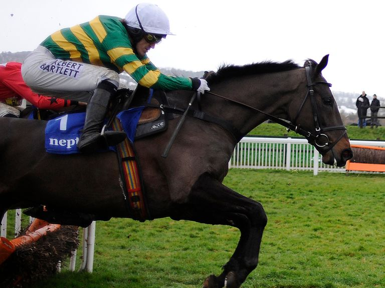 At Fishers Cross: On track for Cheltenham