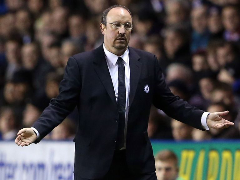 Benitez insists Chelsea are working hard to end the poor run of form
