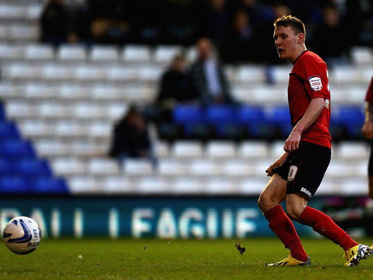 Joe Mason scores for Cardiff