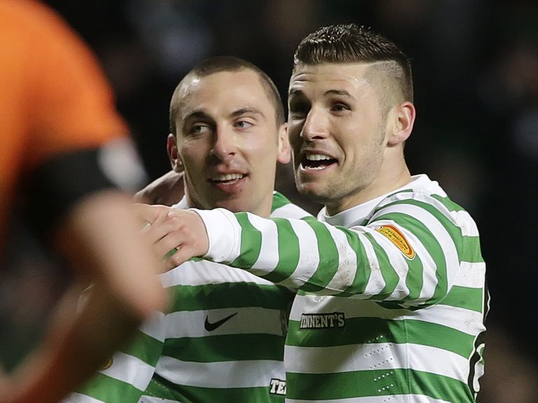 Gary Hooper: Scored two against Dundee United