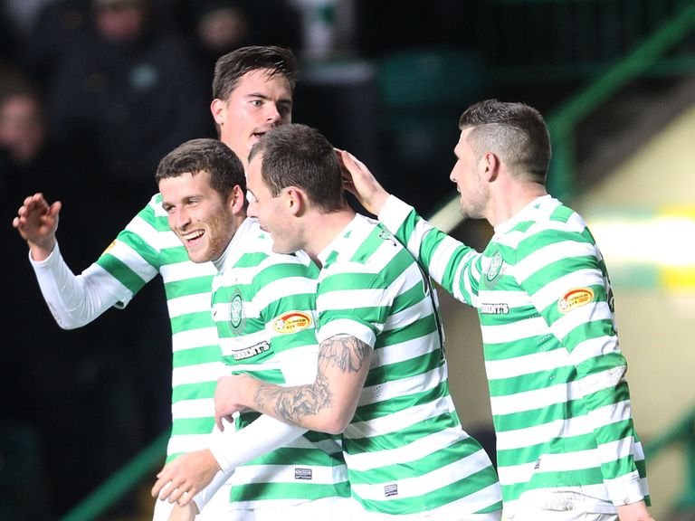 Adam Matthews scored a brace for Celtic against Killie