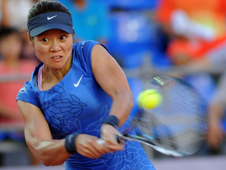 Li Na: Forced to battle for win