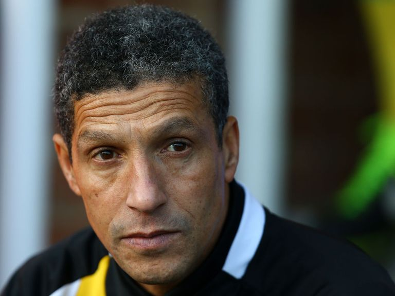 Chris Hughton: Happy to stop the rot