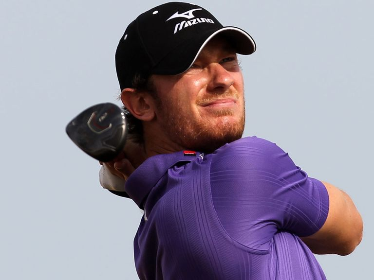 Chris Wood: January's Golfer of the Month