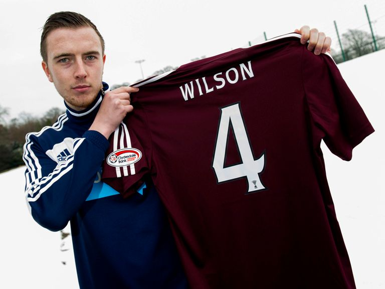 Danny Wilson: Has made a permanent move to Hearts
