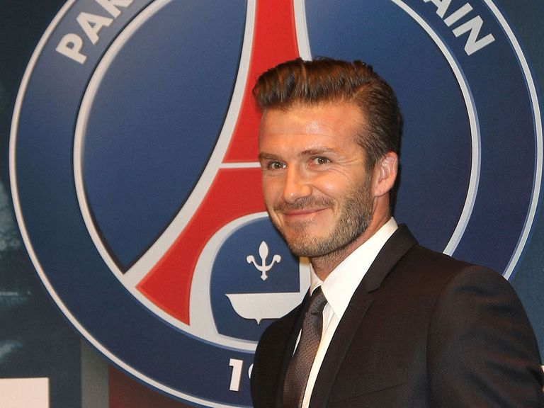 Beckham is looking to emulate his former team-mates