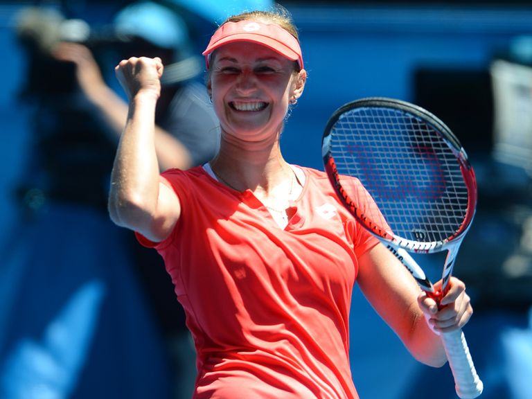 Ekaterina Makarova: Dumped out the fifth seed