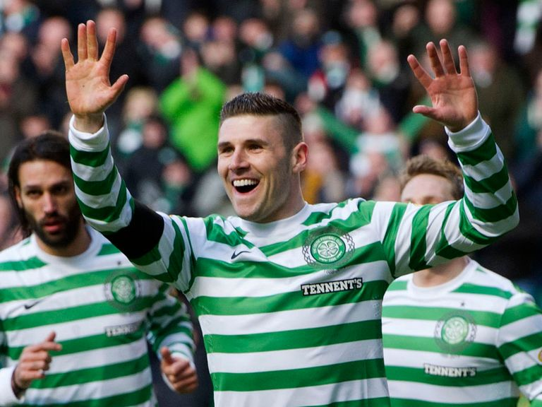 Gary Hooper: Hoping for more success with Celtic