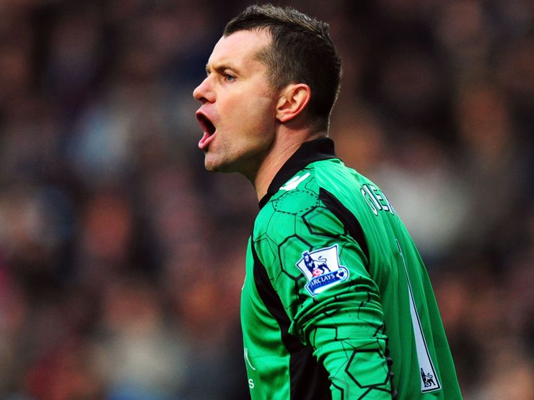 Shay Given: Staying at Middlesbrough
