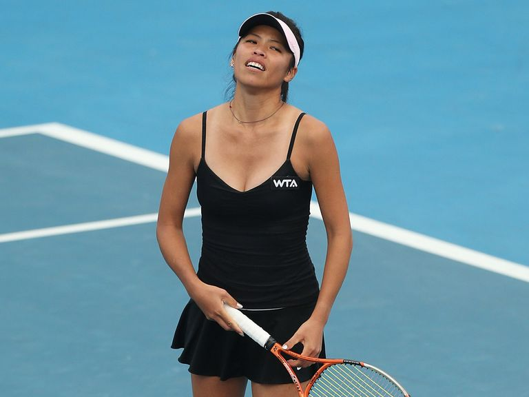 Su-Wei Hsieh: Early exit in Hobart