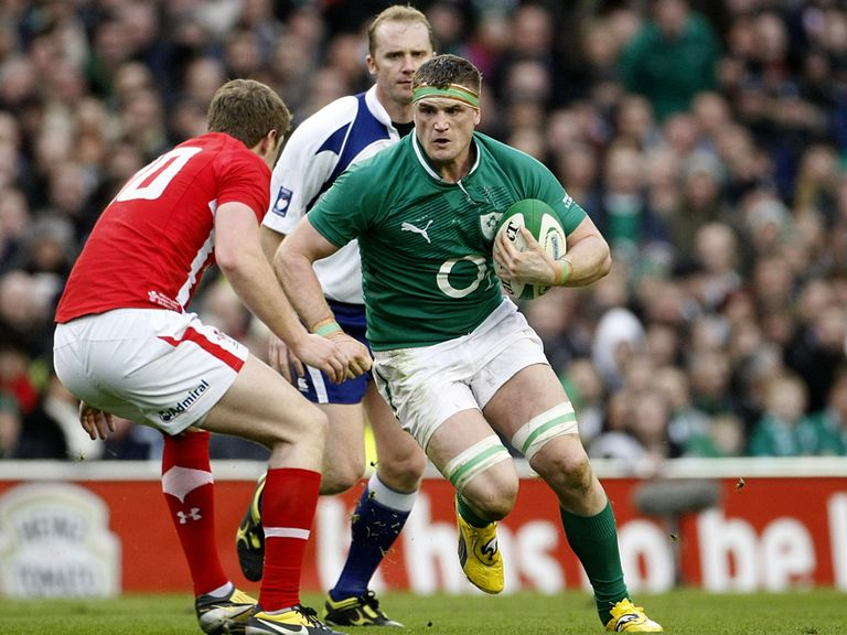 Jamie Heaslip: Handed the Ireland captaincy