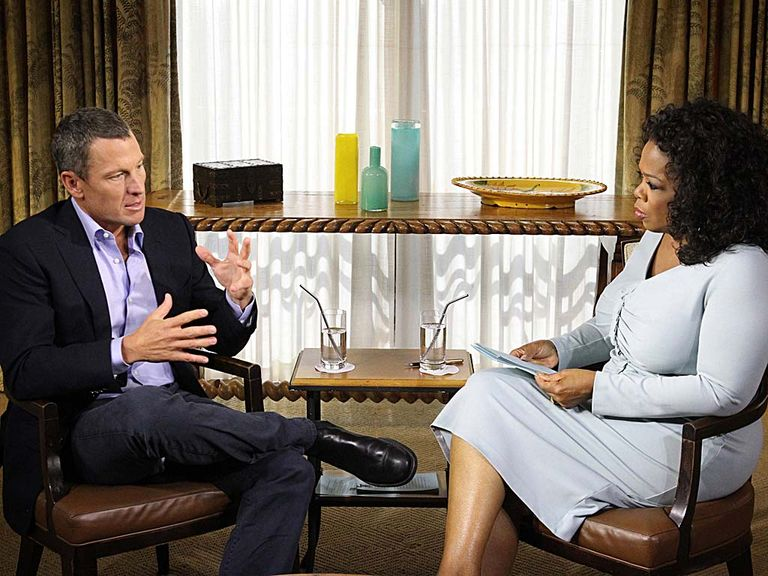 Lance Armstrong: Confessed to Oprah