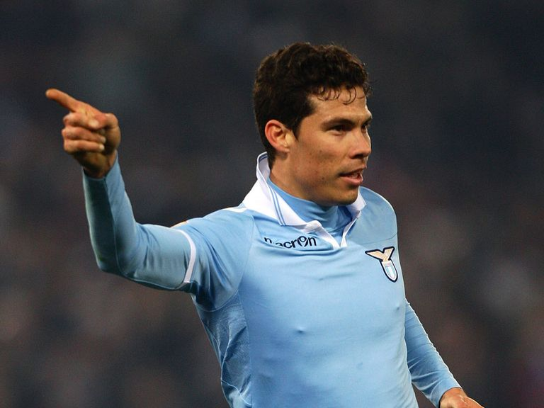 Hernanes scored twice for Lazio