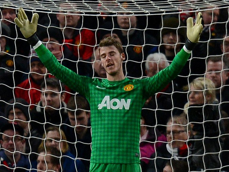 David De Gea: 'I'm happy in Manchester'