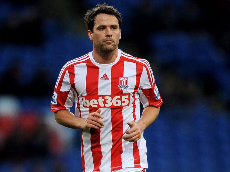 Michael Owen: Has made just five appearances for Stoke