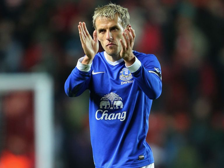 Phil Neville: Leaving Everton after eight years at Goodison