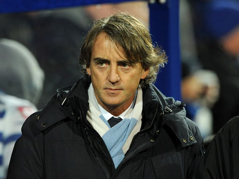 Mancini: Admits United deserved to win the title