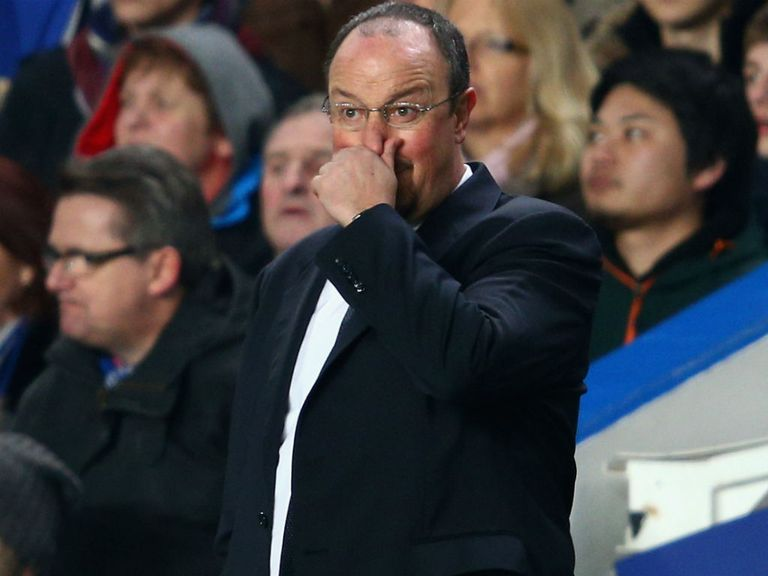 Chelsea have scored in just two of their six home games under Benitez