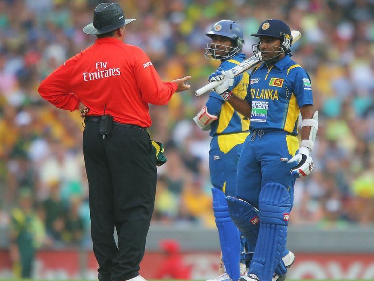 Sri Lanka are angry the game in Sydney was abandoned