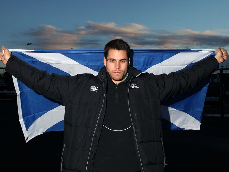 Sean Maitland: Scotland debut v England