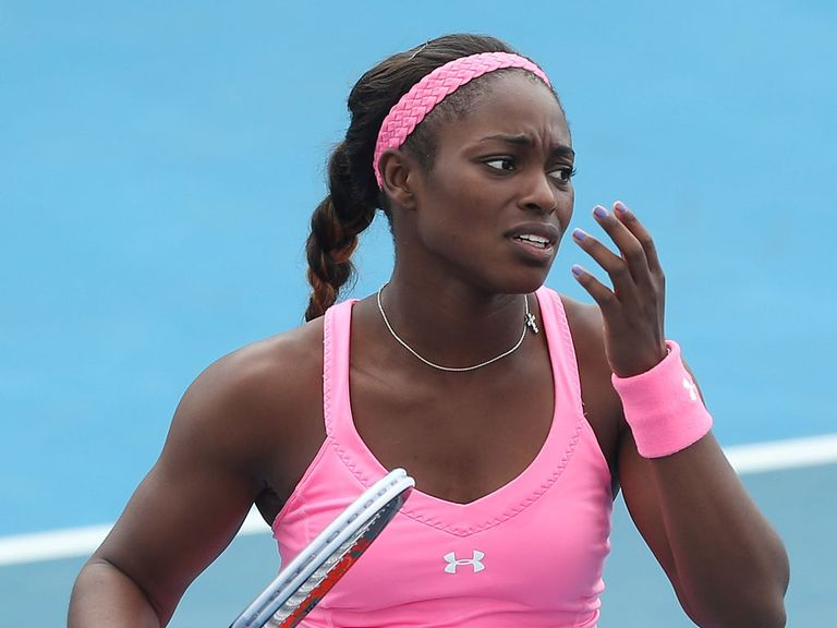 Sloane Stephens: Taken to win by both Andy and Barry
