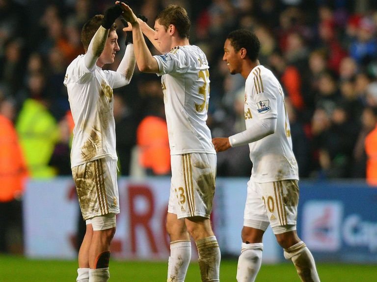Swansea look value to celebrate another away win