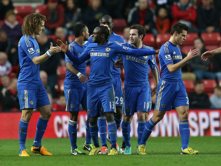 Chelsea thrashed Southampton 5-1 on Saturday