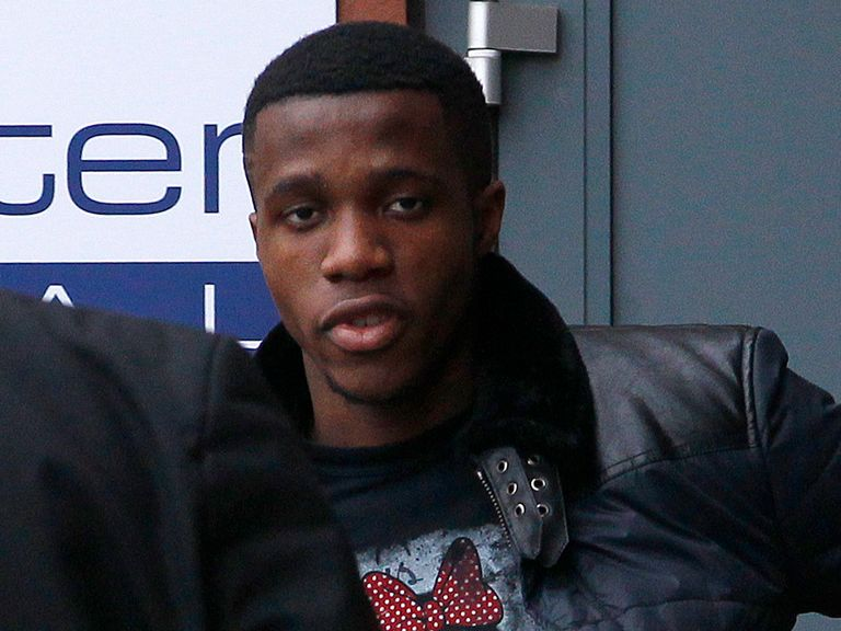 Wilfried Zaha: Improper conduct charge