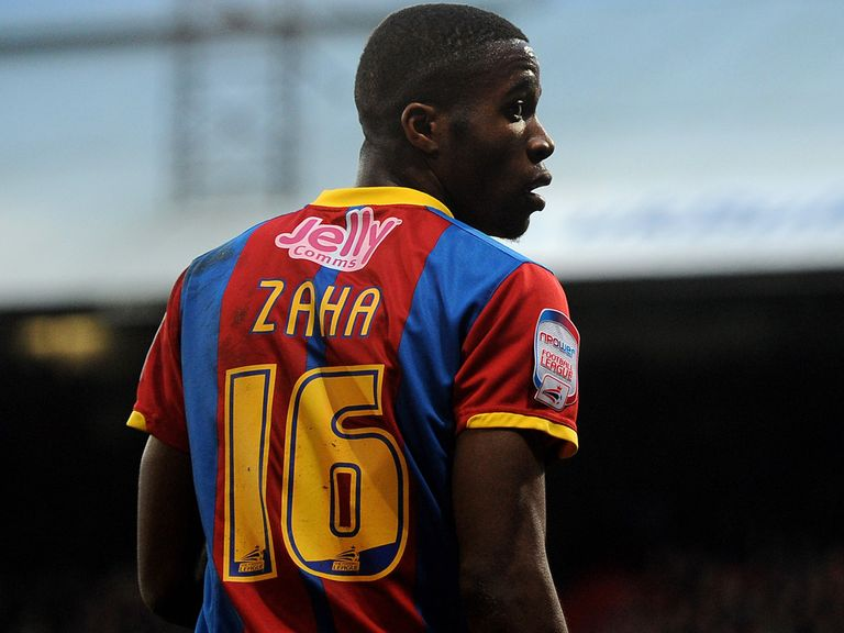 Wilfried Zaha: Heading for Old Trafford