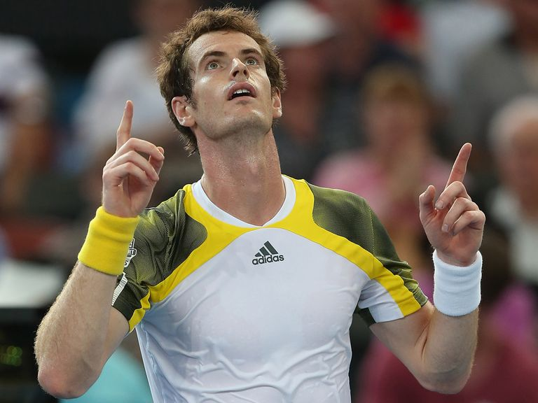 Andy Murray: Through to the last four