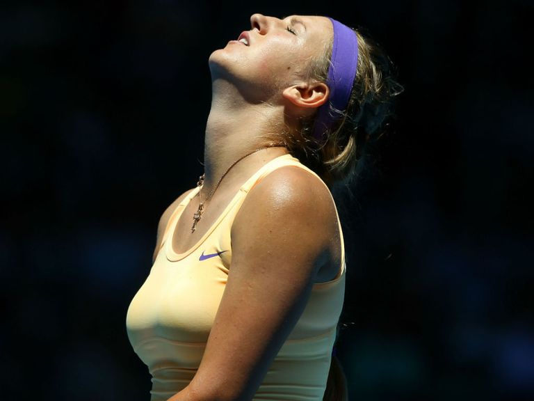 Victoria Azarenka had to work hard for victory,
