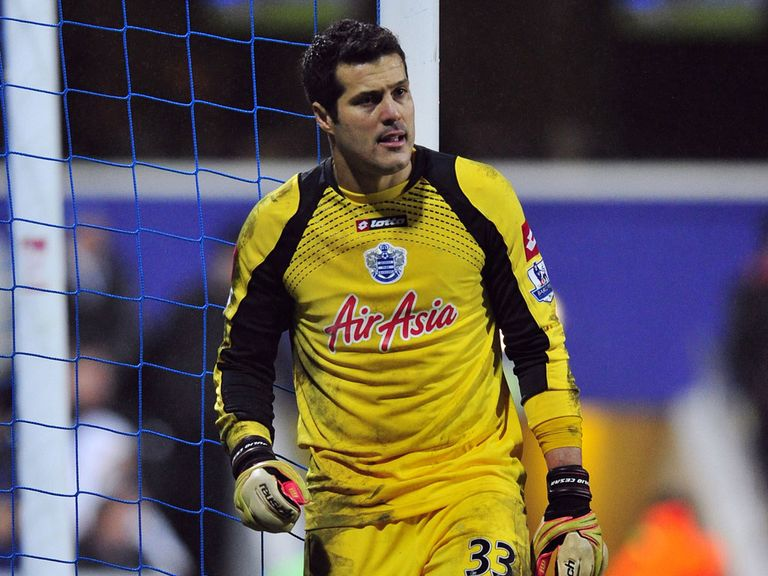 Julio Cesar: Linked with QPR exit