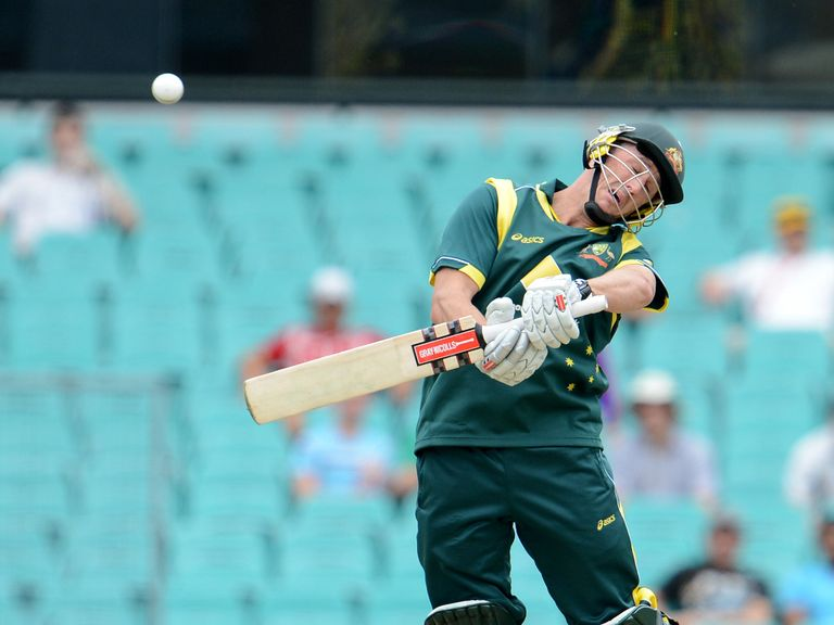 David Hussey: Dropped from Australia squad