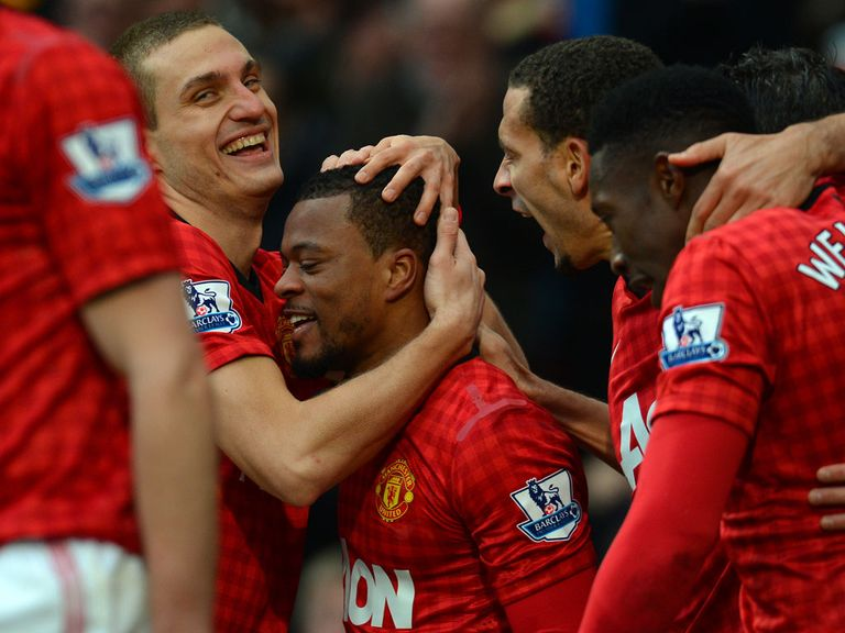 Patrice Evra: Big price to punish Everton