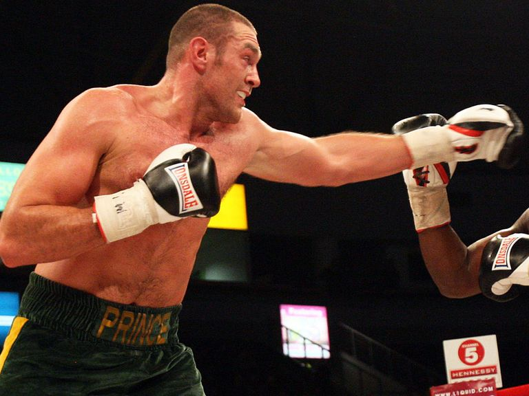 Tyson Fury: Claimed victory the hard way